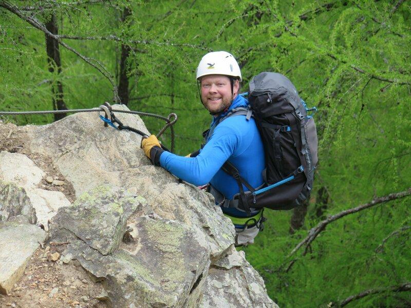 Klettersteigkurs : Alpenverein burghausen klettersteigkurs oetztal